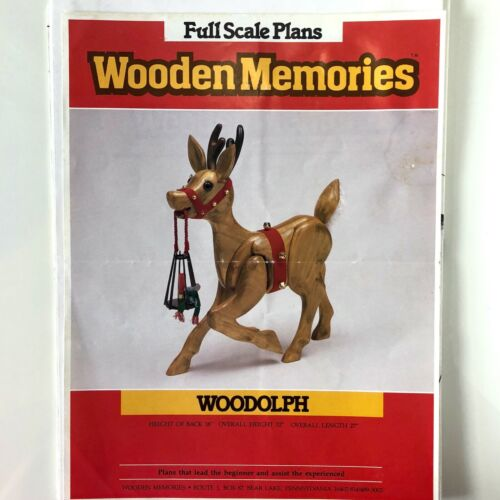 Wooden Memories Christmas Reindeer Woodolph Woodworking Patterns Plans