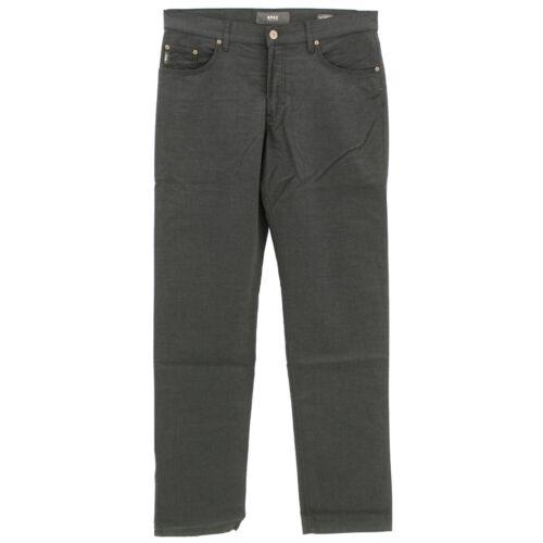 22263 BRAX Herren Jeans Hose COOPER FANCY Straight Stretch asphalt meliert