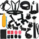 Accessories Kit Mount for Gopro go pro hero 7 6 5 Session 4 SJCAM/Xiaomi yi EKEN