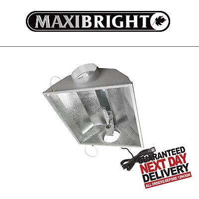 Maxibright Goldstar Air Cooled Reflector 200mm 8 inch Grow Light Kit Silverstar