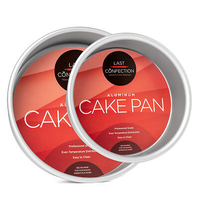 2-Piece Round Cake Pan Set