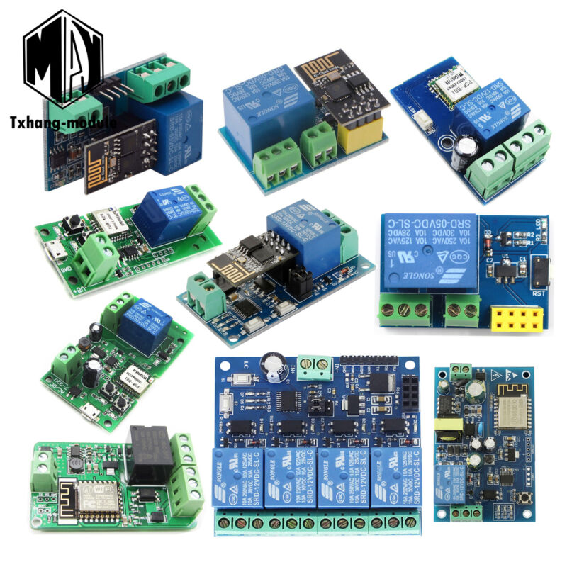 ESP8266 APP Controled Smart Home Automation WiFi Wireless Switch Relay Module US