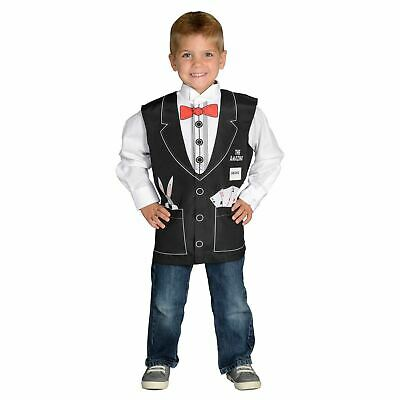 Aeromax Magician Vest career dress up Boys Ttoddler halloween costume ages 3 5