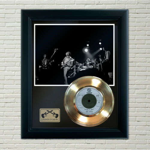 "Dire Straits ""Sultans Of Swing"" Framed Record Display"