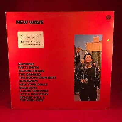 VARIOUS New Wave 1977 UK VINYL LP EXCELLENT CONDITION Ramones New York Dolls