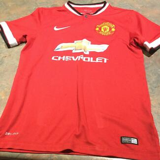 Collectable Nike Manchester United Soccer/ Football jersey
