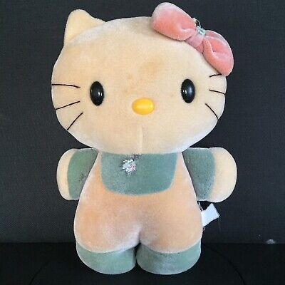 HELLO KITTY VINTAGE 1985 Sanrio Tonka Matchbox Toys COLOR CHANGE Bath PLUSH...