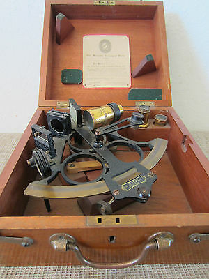 "MARITIME, NAVIGATIONAL, ""HEATH & CO."" SEXTANT"