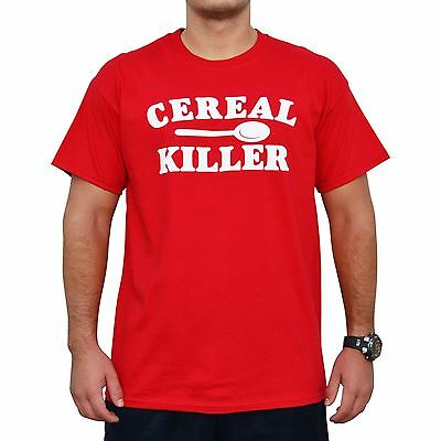 CEREAL KILLER serial Funny party humor tee Halloween office costume idea T-Shirt - Office Halloween Ideas