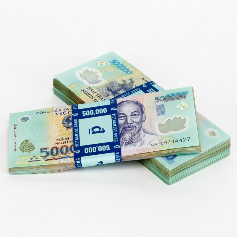 Purchase 1,000,000 VND   Vietnamese Dong   One Million Vietnam Currency & Money