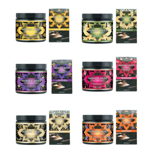 Kama Sutra Honey Dust Kissable Moisture Wicking Body Powder - 6 Scents / 2 Sizes