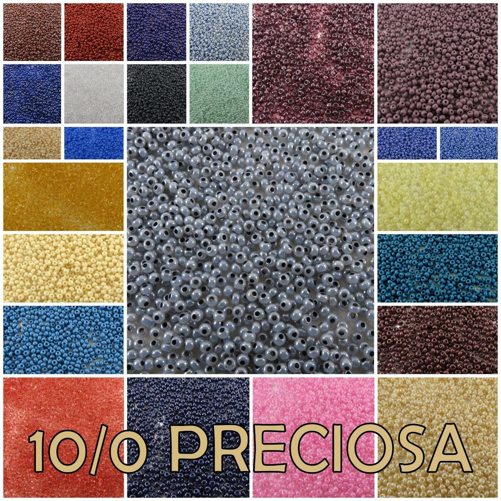 10/0 Preciosa Czech Round Seed Beads  06012-48102