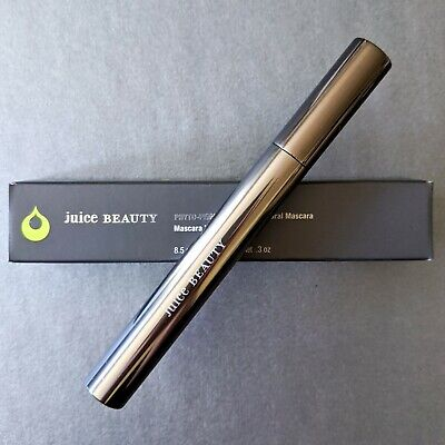 JUICE BEAUTY Phyto-Pigments Ultra-Natural MASCARA | 01 Black Noir | Full Size