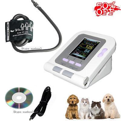 Digital Veterinary Vet Blood Pressure Monitorbp Cuff For Dogcatpets Software
