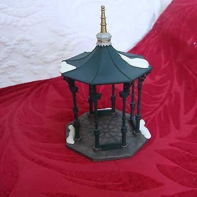 "Dept. 56 Dickens Heritage Village  Accessory ""Town Square Gazebo"" #55113-1"