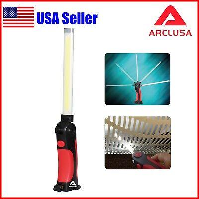 Arclusa Multifunction Rechargeable COB LED Slim Work Light Magnetic Flashlight
