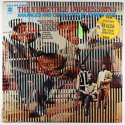 Impressions - The Versatile Impressions LP - ABC SEALED