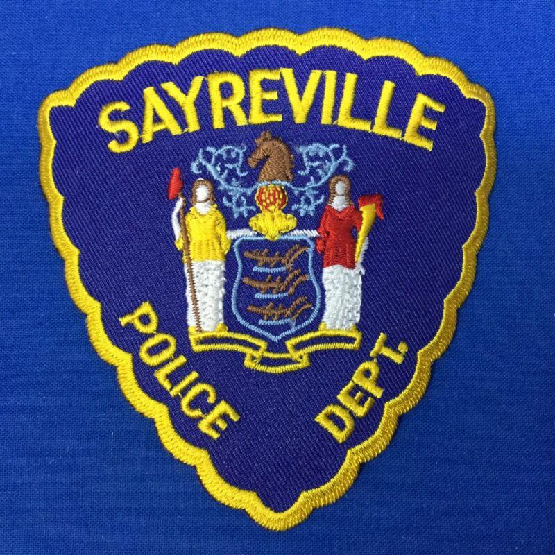 Sayreville Police Dept. Shoulder Patch New Jersey