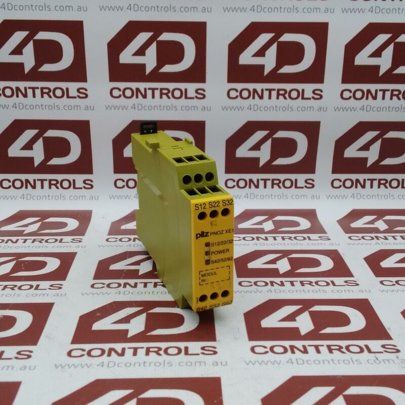 774620 | Pilz | (PNOZ XE1 24VDC), Safety Relay, 24VDC, 8mA, 2 Inputs, Used