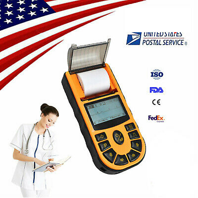 Portable Digital Single 1-channel Ecg Ekg Machine Electrocardiograph Software