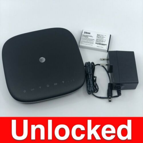 ZTE MF279 Home Wireless WiFi 4G LTE Phone and Internet Router Base(AT&T Unlock)