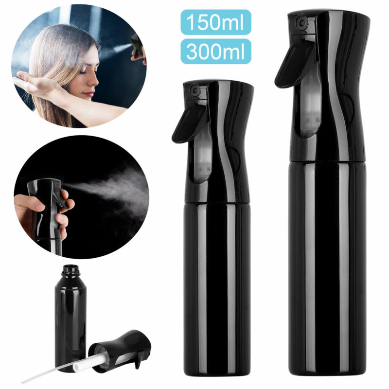 300ml Hair Fine Mist Spray Water Bottle Sprayer Hairdressing Salon Beauty Tools