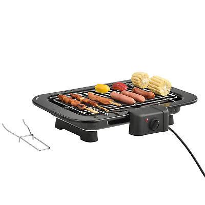 Elektrischer Tischgrill 2200W Balkongrill Elektrogrill Barbecue Grill