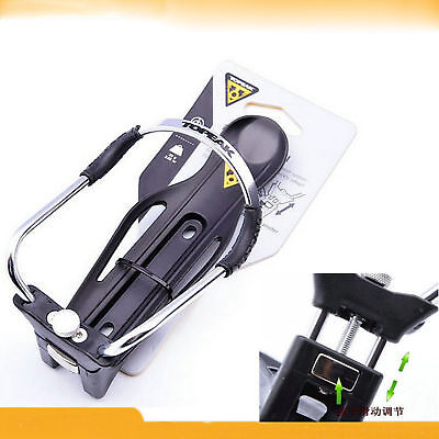 (Motorcycle CNC Water Bottle Rack Holder Adapter For BMW R1200GS ADV 2008-2017)