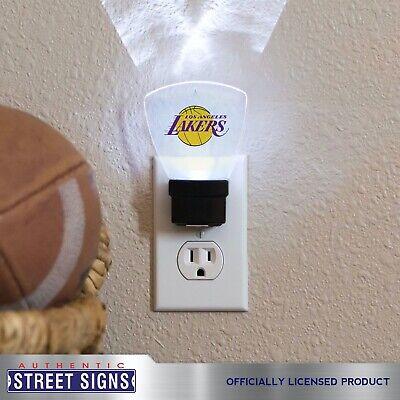 Los Angeles Lakers LED Nightlight Reg. Logo Authentic Street