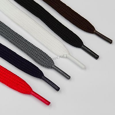 Flat Bootlaces Athletic Shoelaces Wide Shoe Boot Laces  Sneaker Casual Strings