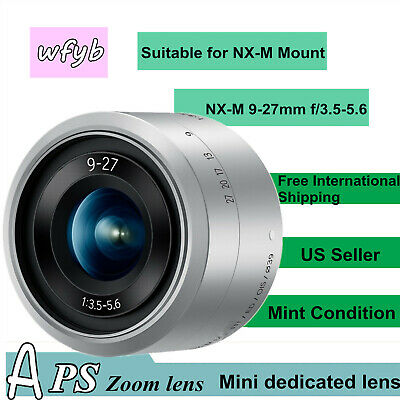 9-27mm f/3.5-5.6 ED OIS lens for SAMSUNG Mount NX min silver US Seller