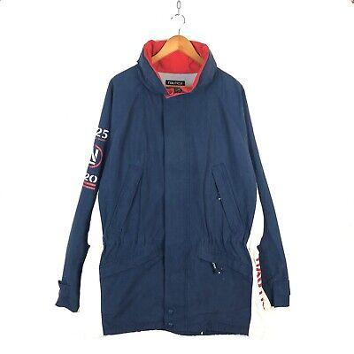 Nautica Sailing Jacket Size 2XL Navy Blue