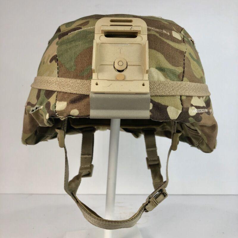 New Large/XLarge US ARMY OCP MULTICAM ACH MICH ECH HELMET COVER w/o IR Tabs L/XL