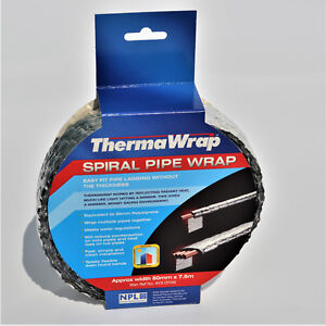 Thermawrap Pipe Wrap for pipe lagging 7.5m x 50mm wide