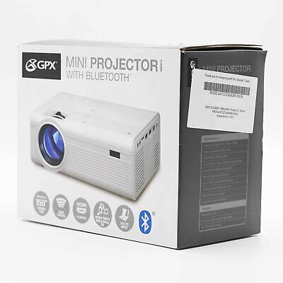 Gpx 1080p Pj308w Mini Projector GPXPJ308W