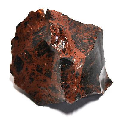 Mahagoni Obsidian Vulkanisches Glas - 900 g Dekoration für Garten und Aquarium (Aquarium Dekoration Garten)