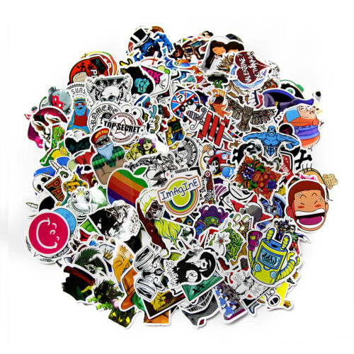 Home Decoration - 1000X Random Vinyl BOMB PACK Graffiti Stickers Laptop Skate Luggage Car Decal UK