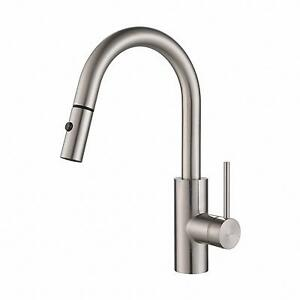 Kraus Mateo Series KPF2620SS Single Lever Pull Down Kitchen Faucet
