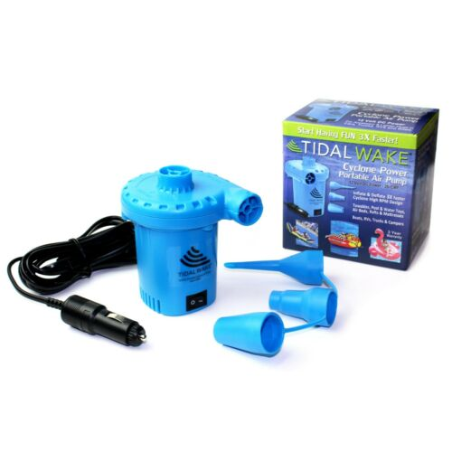 Tidal Wake 12V DC Air Pump for Inflatables, Towables, Pool Toys, Air Beds 22134