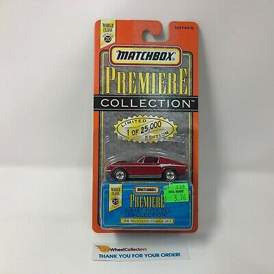 #6  '68 Mustang Cobra Jet * RED * Matchbox Premiere Collection * S14