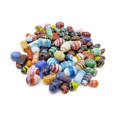 Colorful Lampwork Glass Beads Mix 50pc High Quality Jewelry Beads