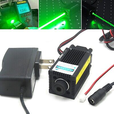 520nm 1w Focusable Dot Laser Module Ttl Driver 1000mw Green Diode 12v Adapter