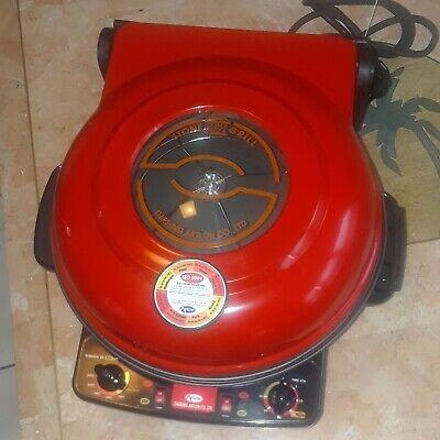 Daesung Artlon Co Ltd Pizza Stone Electric Grillovencooker Red- Guc Clean