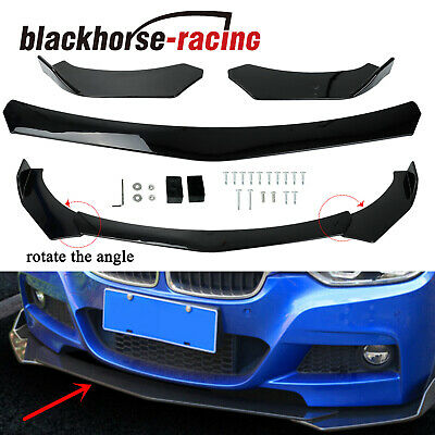 Fit BMW E39 E46 E53 E60 E61 X5 E70 X6 E71 X1 Front Bumper Lip Body Kit Spoiler