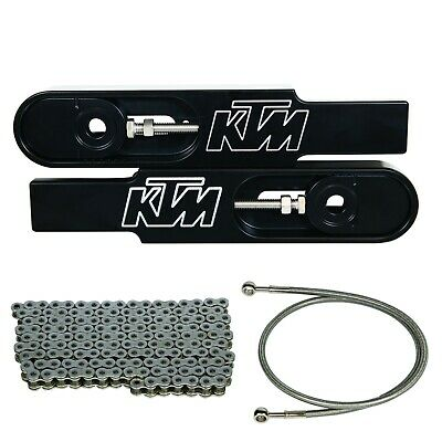 KTM 390 Swing Arm Extension Kit - Made in USA - Lifetime Warranty