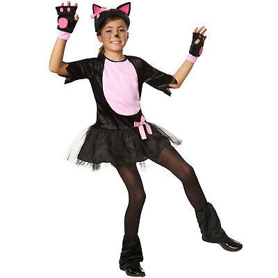 Kostüm Mädchen Katze Kätzchen Cat Katzenkostüm Katzenkleid Fasching Karneval