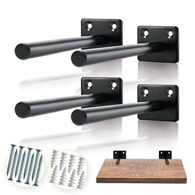 Solid Steel Floating Shelf Bracket - Floating Shelf Brackets - US (Solid Wall Shelf)
