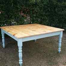 Shabby chic dining table indoor / outdoor furniture rustic home Brisbane Region Preview
