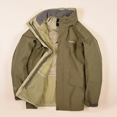 Berghaus Damen Jacke Jacket Gr.16 (DE 48) Gore-Tex Performance Shell Grün, 67932 Performance Shell Jacke
