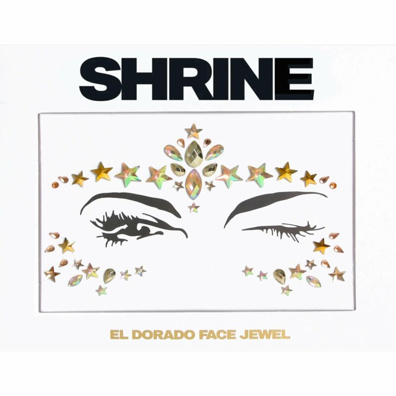 Shrine+-+Individual+Self+Adhesive+Face+Jewel+-+El+Dorado+-+Gold